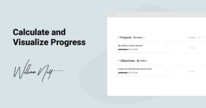 Calculate and Visualize Progress